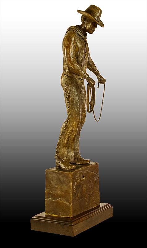 Forgotten Cowboy - bronze